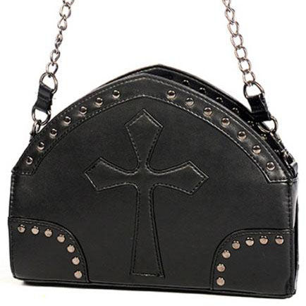 Banned Arch Shape and Cross Bag | Angel Clothing
