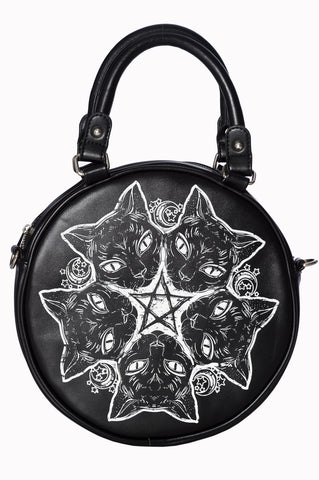 Banned Esotericat Round Bag | Angel Clothing