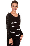 Banned Friction Jumper Black White | Angel Clothing