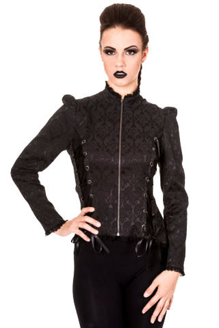 Banned Gothic Before Dawn Jacket JBN627 | Angel Clothing