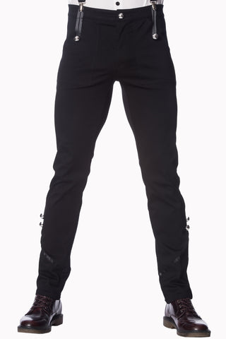 Banned Gothic Clothing, Mens Military Trousers - Angel Clothing