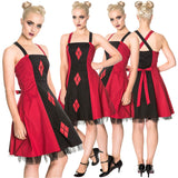 Banned Harlequin Juno Dress | Angel Clothing