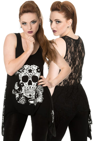 Banned Garden of Darkness Top | Angel Clothing