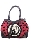 Banned Lunar Sisters Bag Burgundy | Angel Clothing