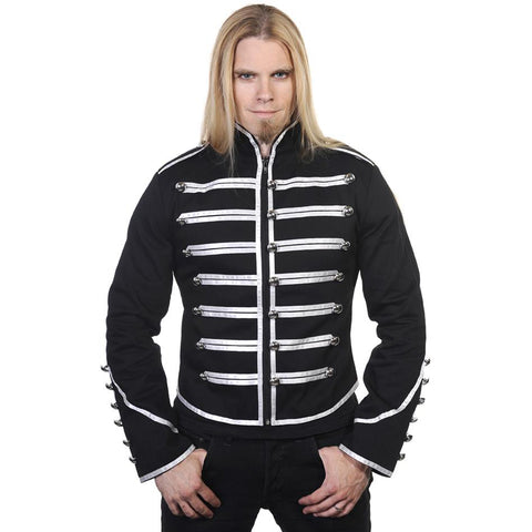 Banned Mens Military Drummer Jacket | Angel Clothing