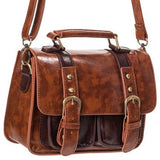 Banned Mini Steampunk Satchel Tan | Angel Clothing