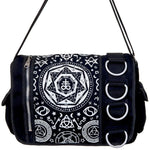 Banned Pentagram Messenger Bag | Angel Clothing