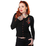 Banned Polkadot Anchor Cardigan | Angel Clothing