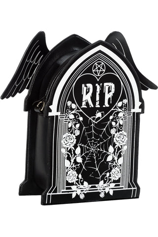 Banned Sleepwalker Backpack, Gothic Tombstone Bag - Angel Clothing