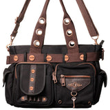 Banned Steampunk Shoulder Bag | Angel Clothing