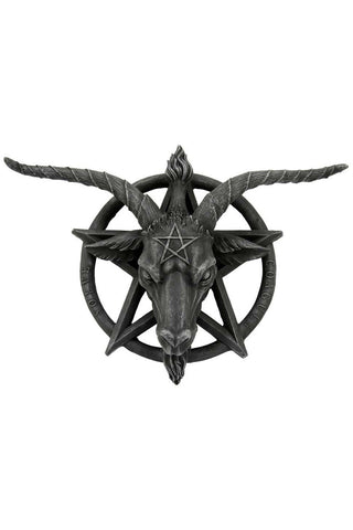 Baphomet Wall Plaque 40cm | Angel Clothing