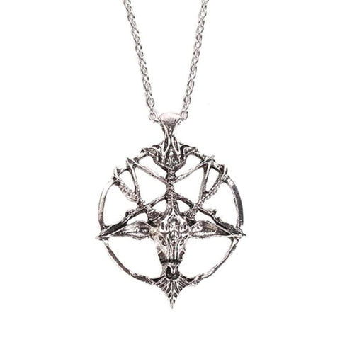 Baphomet Gothic Necklace | Angel Clothing