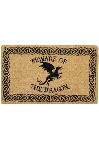 Beware of the Dragon Doormat | Angel Clothing