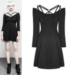 Punk Rave Strappy Dress | Angel Clothing