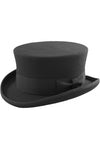 Black Wool Felt Steampunk Dressage Top Hat | Angel Clothing