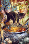 Briar Cauldron Capers Birthday Card, Gothic Cat Greetings Card | Angel Clothing