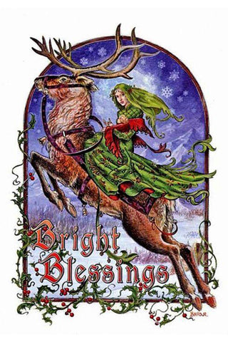 Bright Blessings Yuletide Card | Angel Clothing