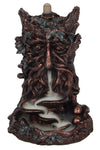 Bronze Effect Tree Man Backflow Incense Burner | Angel Clothing