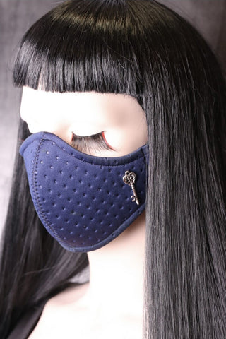Blueberry Neoprene Face Mask | Angel Clothing