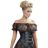 Burleska Gypsy Top Brown | Angel Clothing