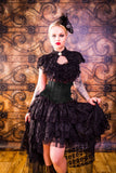Burleska Dita Top Black | Angel Clothing