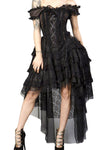 Burleska Ophelie Dress Brown Stripe | Angel Clothing
