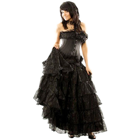 Burleska Victorian Gothic Skirt | Angel Clothing