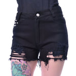 Heartless Bury Me Shorts | Angel Clothing
