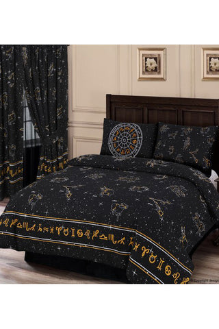 Celestial Duvet Black | Angel Clothing