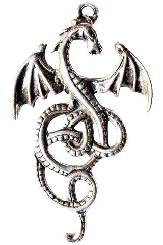 Celtic Sorcery Nidhogg Dragon Gothic Pagan Pendant | Angel Clothing