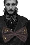 Punk Rave Steampunk Charon Brown Bow Tie | Angel Clothing