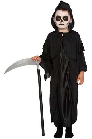 Childrens Reaper Halloween Fancy Dress Costume - Angel Clothing