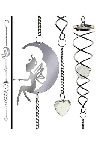 Alchemy Gothic Fairy Moon Wind Spiral | Angel Clothing