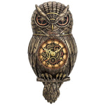 Chronology Wisdom Steampunk Owl Clock | Angel Clothing