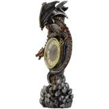 Clockwork Reign Steampunk Dragon Clock | Angel Clothing