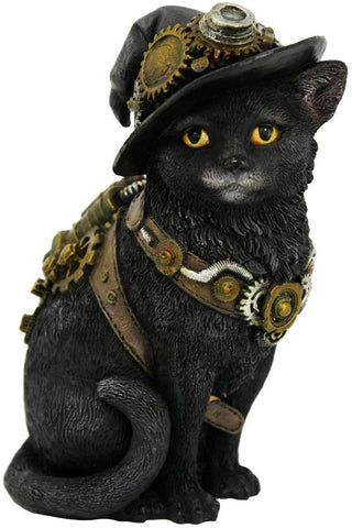Clockwork Steampunk Kitty 16.5cm | Angel Clothing