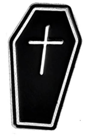 Coffin Gothic Pin | Angel Clothing