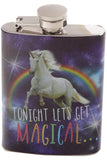 Cosmic Unicorn Hip Flask | Angel Clothing