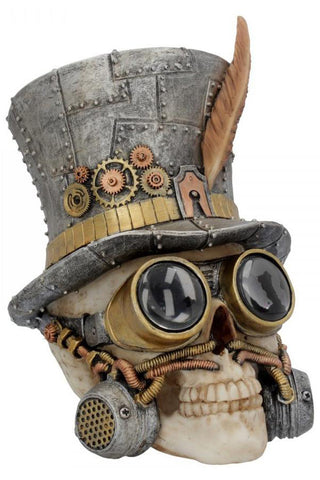 Count Archibald Steampunk Skull | Angel Clothing