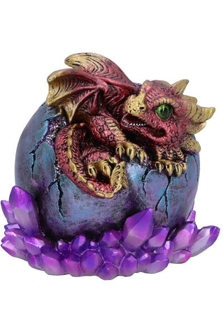 PRE-ORDER Crimson Hatchling Glow Dragon Red
