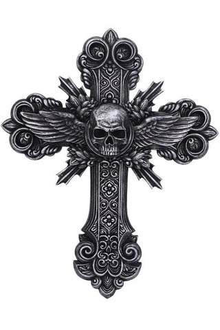 PRE-ORDER Spiral Crucifix Wall Plaque | Angel Clothing