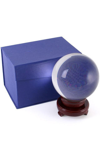 Crystal Ball 13cm with Stand | Angel Clothing