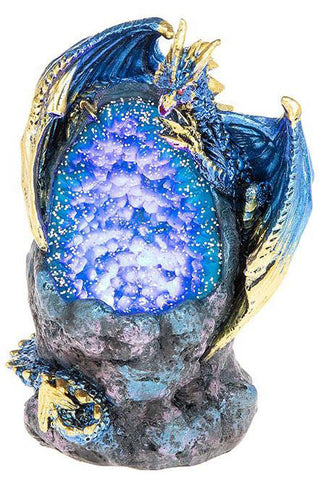 Crystal Cave LED Dragon Blue Small | Angel Clothing