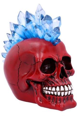 Crystal Hawk Red LED Skull | Angel Clothing