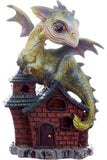 Cute Green Baby Dragon on Cottage C | Angel Clothing