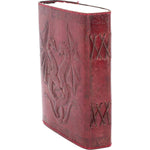 Double Dragon Leather Embossed Journal and Lock | Angel Clothing