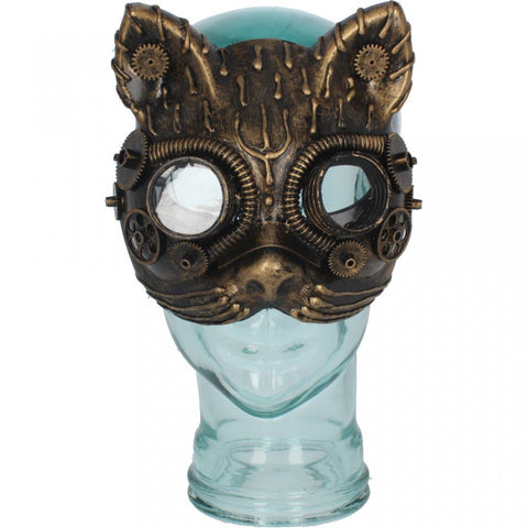 Kinetic Kitten Steampunk Cat Face Mask | Angel Clothing