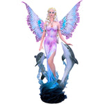 Delphinia Fairy and Dolphin Figurine | Angel Clothing