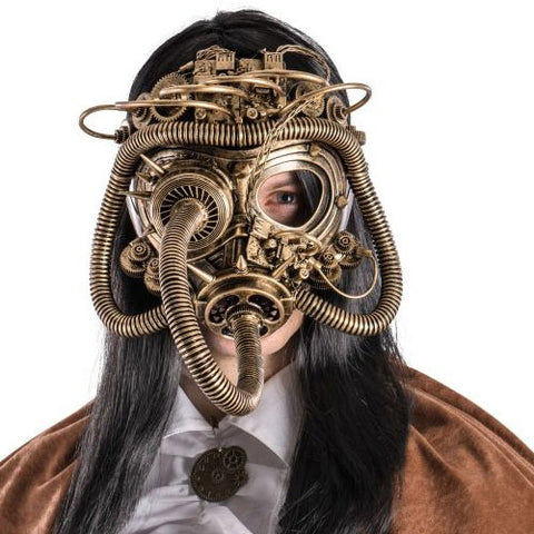 Dark Baron Full Steampunk Mask | Angel Clothing