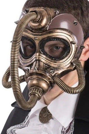 Dark Baron Steampunk Gas Mask | Angel Clothing